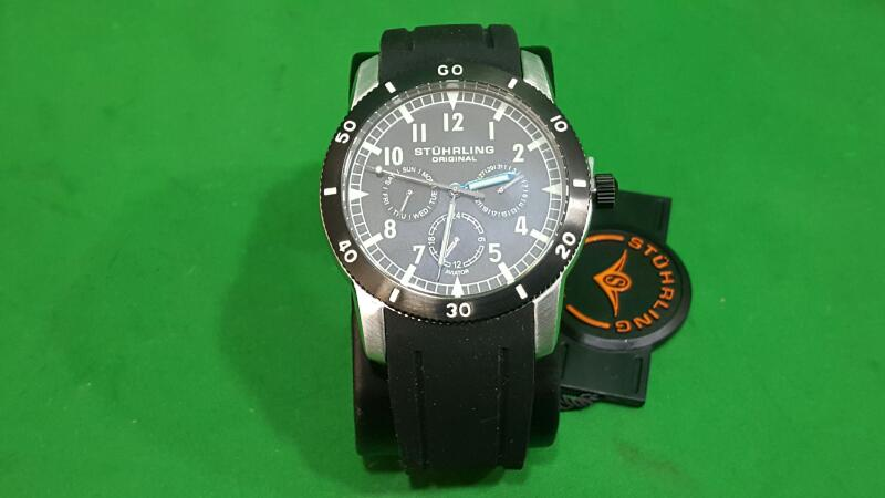 STUHRLING Gent's Wristwatch AVIATOR