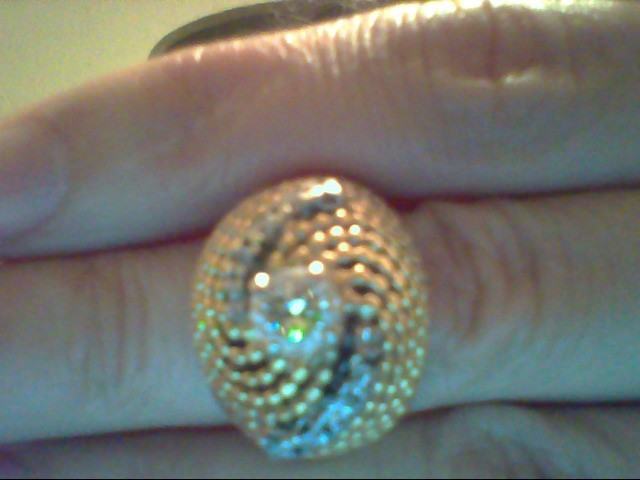 Lady's Diamond Fashion Ring 11 Diamonds .92 Carat T.W. 14K Yellow Gold 9.9g