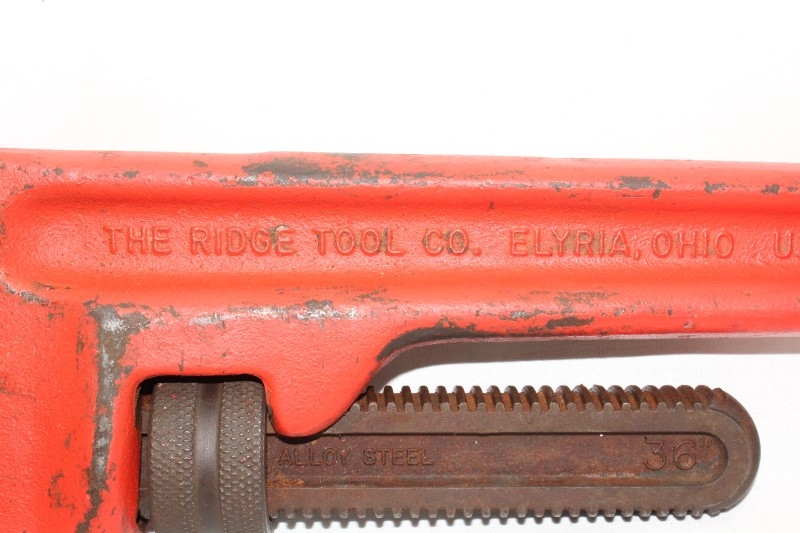 """RIDGID TOOLS Wrench 36"""" PIPE WRENCH"""