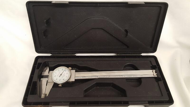 MITUTOYO Dial CALIPER Shock-Proof Hardened Stainless