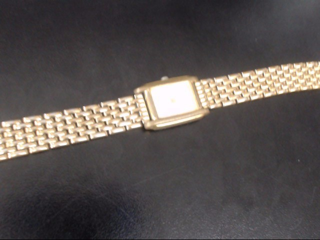 SEIKO V401-5650 GOLD/SILVER WATCH PLATED   WATCH