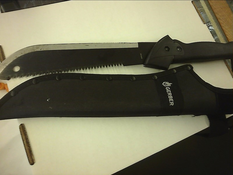 GERBER Combat Knife MACHETE