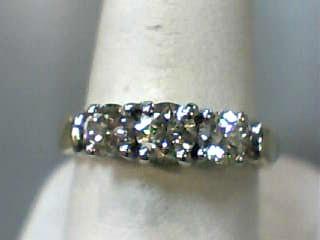 Lady's Gold-Diamond Anniversary Ring 3 Diamonds 1.00 Carat T.W. 14K Yellow Gold