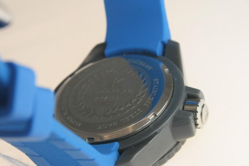Men's Adee Kay AK7118 Blue Watch