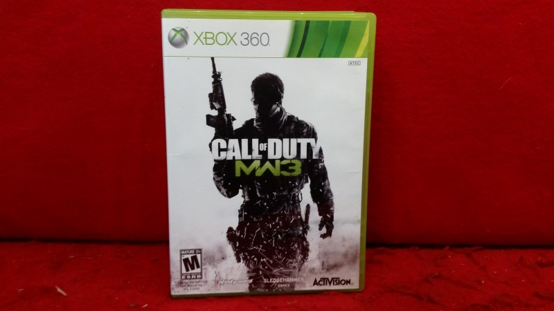 Call of Duty: Modern Warfare 3 (Microsoft Xbox 360, 2011)