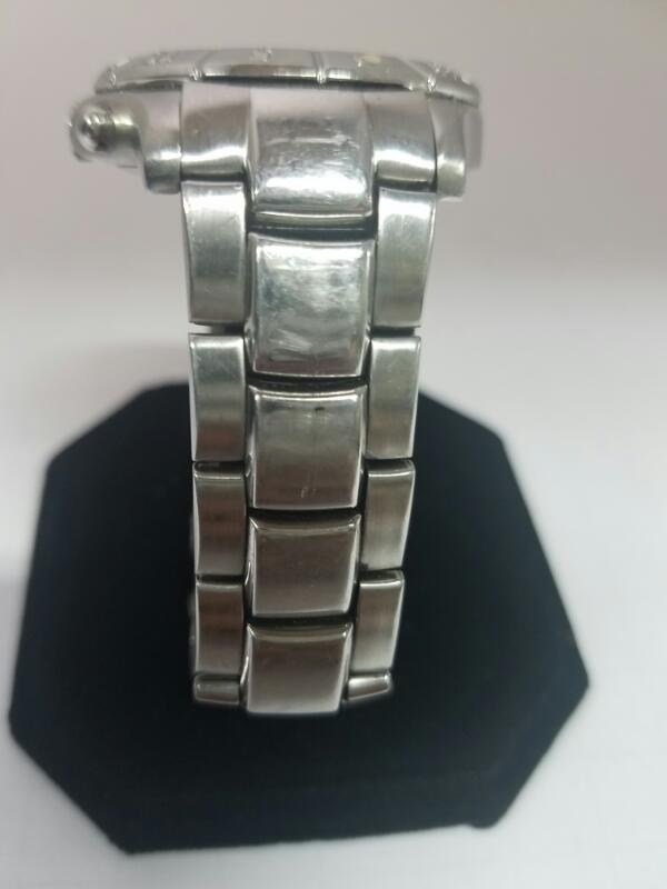 FOSSIL CH-2331 GOLD/SILVER WATCH PLATED   MNS #9 WATCH