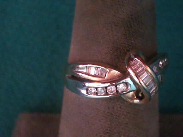 Lady's Diamond Fashion Ring 21 Diamonds .21 Carat T.W. 10K Yellow Gold 2dwt