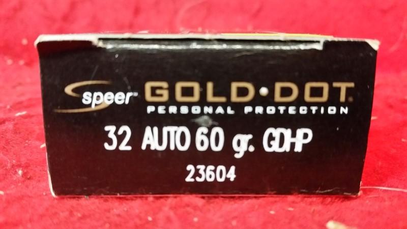Speer 32 Auto 60gr GDHP