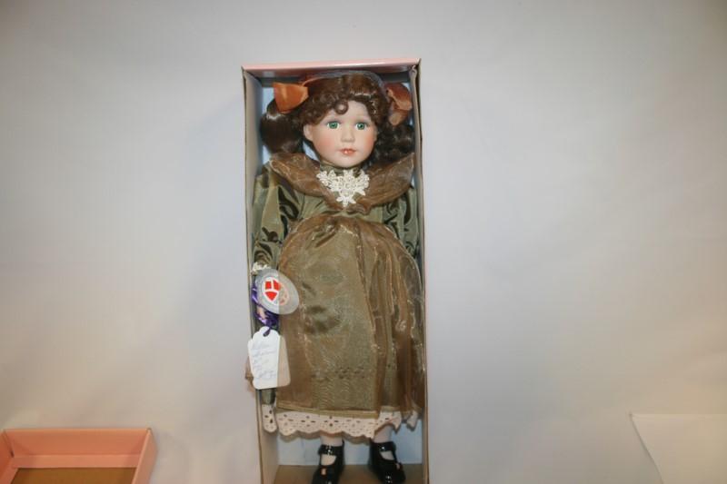 Dalton Sharon Collectible Porcelain Doll