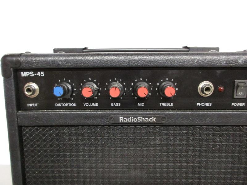 RADIO SHACK MPS-45 GUITAR PRACTICE COMBO AMP