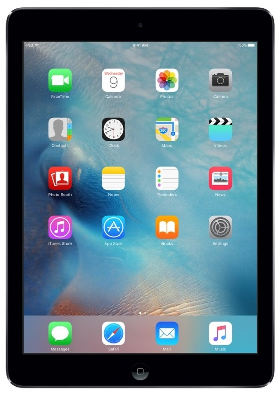 APPLE IPAD AIR 32GB WI-FI - SPACE GRAY (MD786LL/B)
