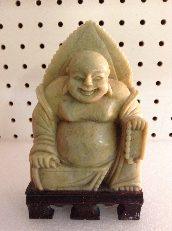 Glass/Pottery BUDDHA