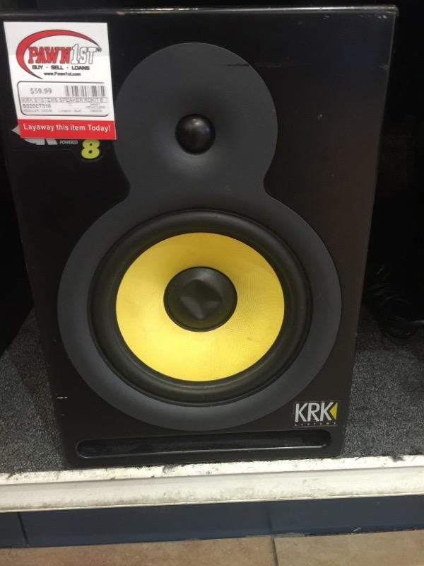 KRK SYSTEMS Speakers/Subwoofer ROKIT 8