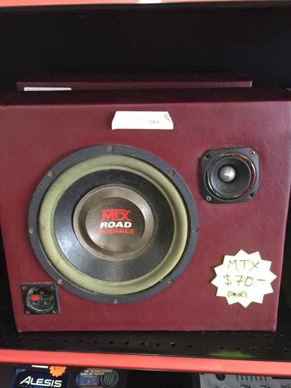 MTX ROAD SPEAKERS-CAR   SPEAKERS