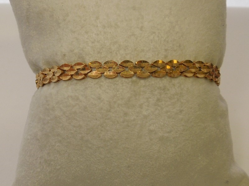 Gold Bracelet 14K Yellow Gold 6.6g