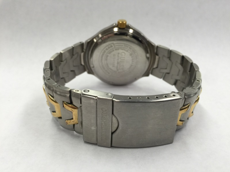 GUESS Gent's Wristwatch WATERPRO INDIGLO