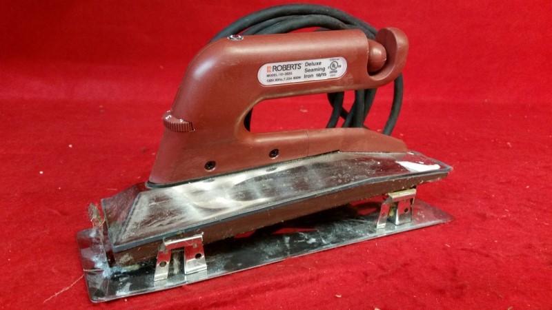 Roberts 10-282G Deluxe Heat Bond Carpet Seaming Iron