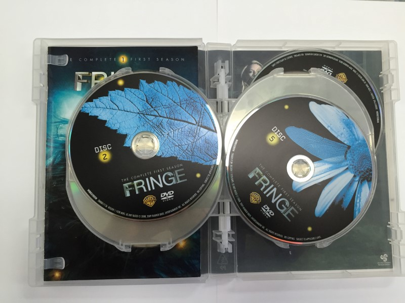 FRINGE THE COMPLETE FIRST SEASON DVD