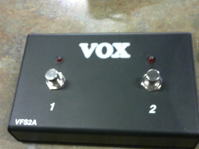 VOX Musical Instruments Part/Accessory FOOT SWITCH VFS5