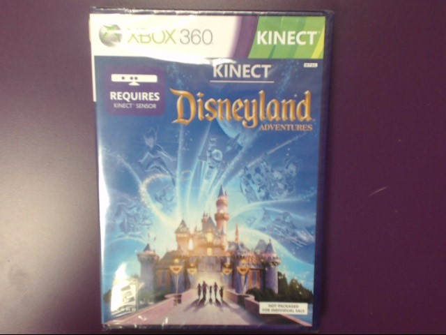Disneyland Adventures - (Microsoft Xbox 360 Kinect, 2011)
