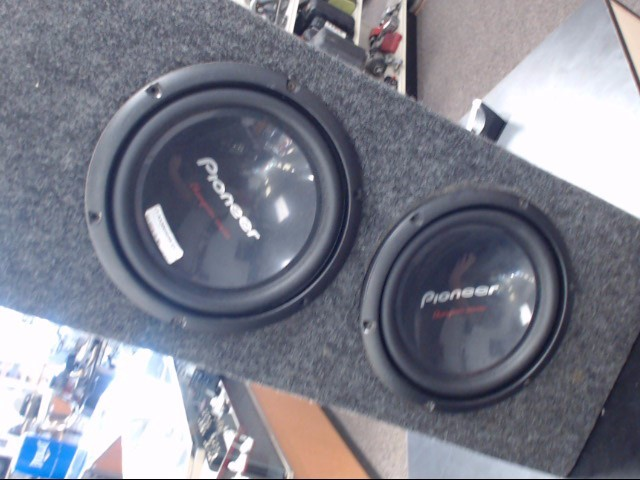 PIONEER ELECTRONICS Speakers/Subwoofer CHAMPION SERIES PRO 10""