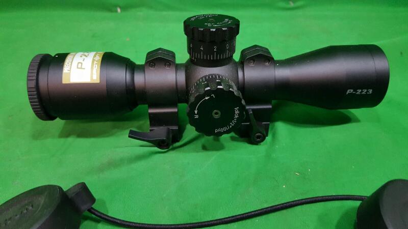 """Nikon 8496 P-223 3x 32mm Obj 35.6 ft @ 100 yds FOV 1"""" Tube Black Matte BDC"""