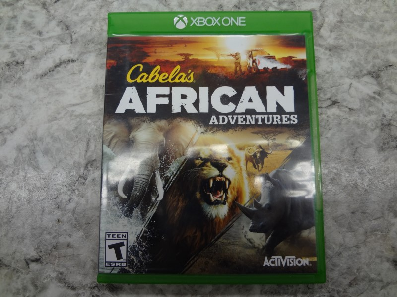 CABELA'S AFRICAN ADVENTURE FOR XBOX ONE