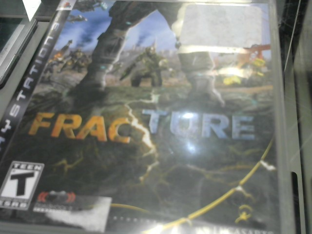 SONY Sony PlayStation 3 Game FRACTURE