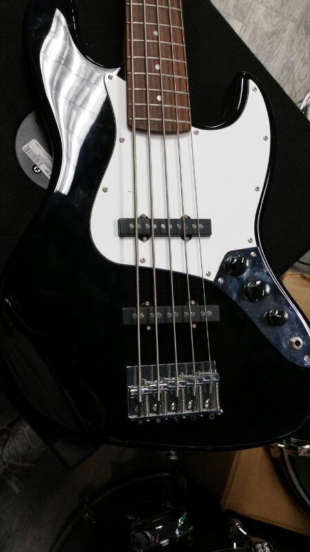FENDER Bass Guitar SQUIER J BASS 5-STRING