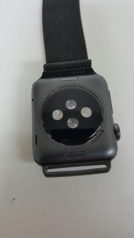 Apple Watch Sport 38mm 7000 Series Space Gray Aluminum