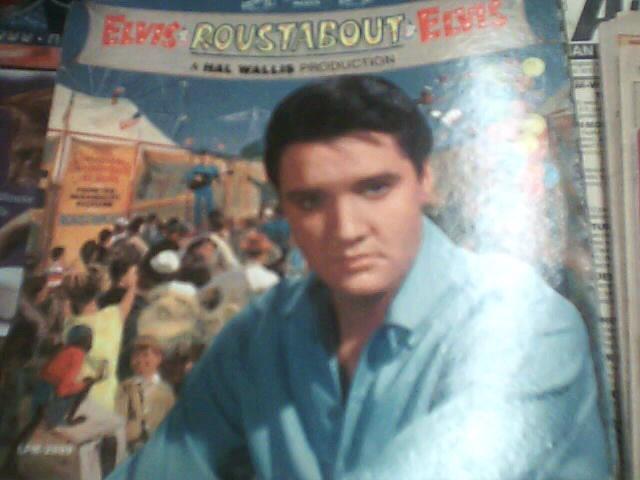 RCA Entertainment Memorabilia ELVIS ROUSTABOUT ALBUM