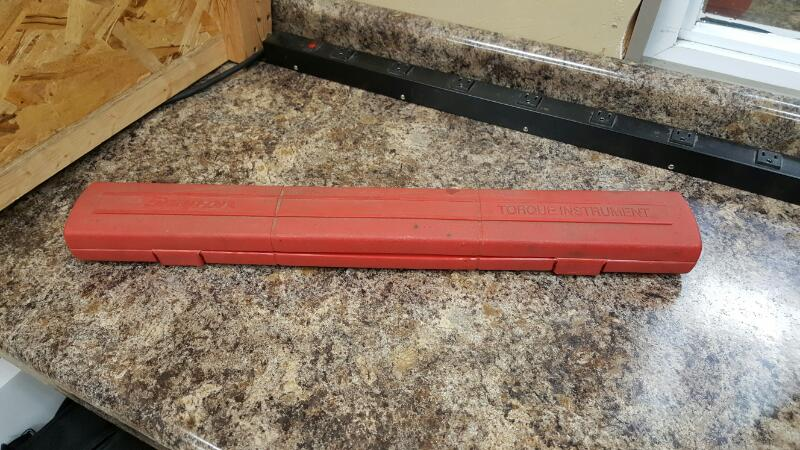 "Snap-On TQFR250E 1/2"" Drive TQ Series Flex Head Torque Wrench"