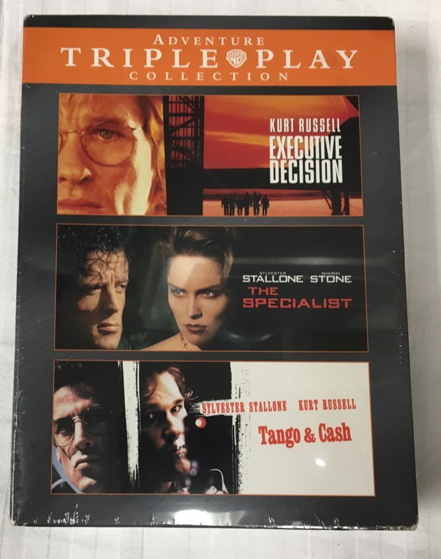 DVD ADVENTURE TRIPLE PLAY COLLECTION