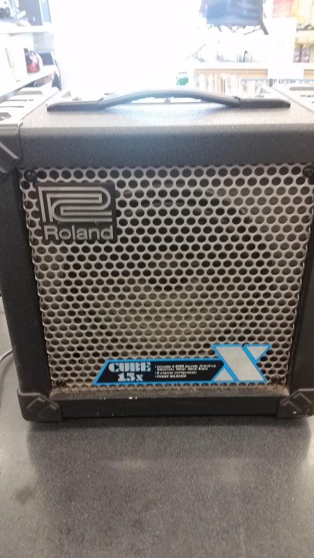 ROLAND Electric Guitar Amp CUBE 15X