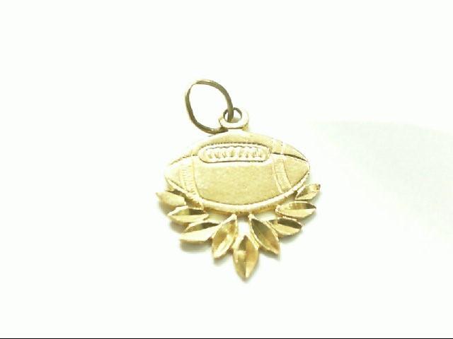 Gold Charm 14K Yellow Gold 0.8g