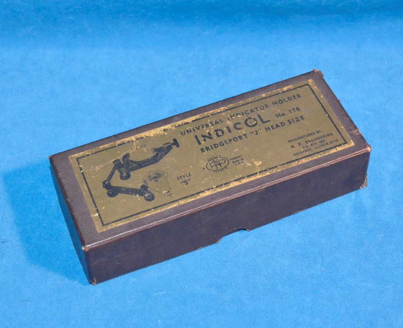 "INDICOL 178 UNIVERSAL INDICATOR HOLDER BRIDGEPORT ""J"" HEAD SIZE STYLE ""S"""