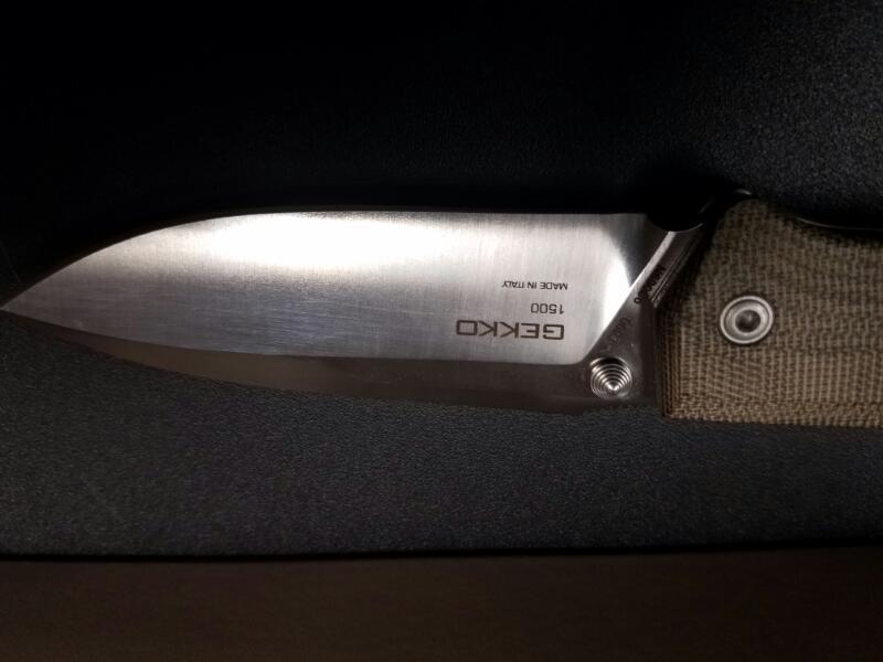 STEEL WILL Pocket Knife GEKKO 1500