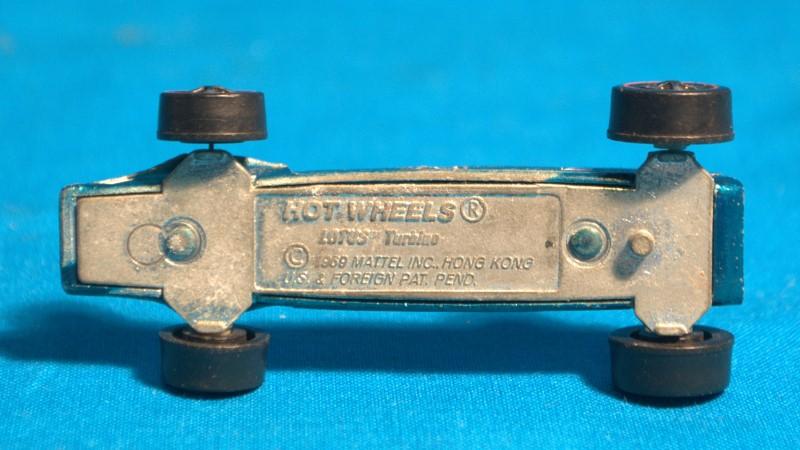 MATTEL Toy HOT WHEELS 1969 Lotus Turbino Teal