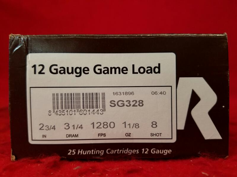 "Rio 12ga Game Load 2-3/4"" Ammo - 8 Shot"