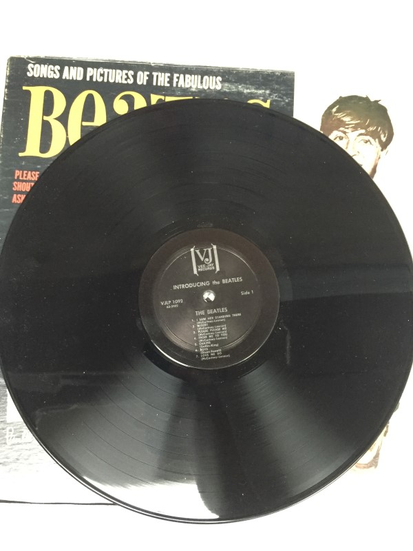 VEE JAY RECORDS SONGS AND PICTURES OF THE FABULOUS BEATLES