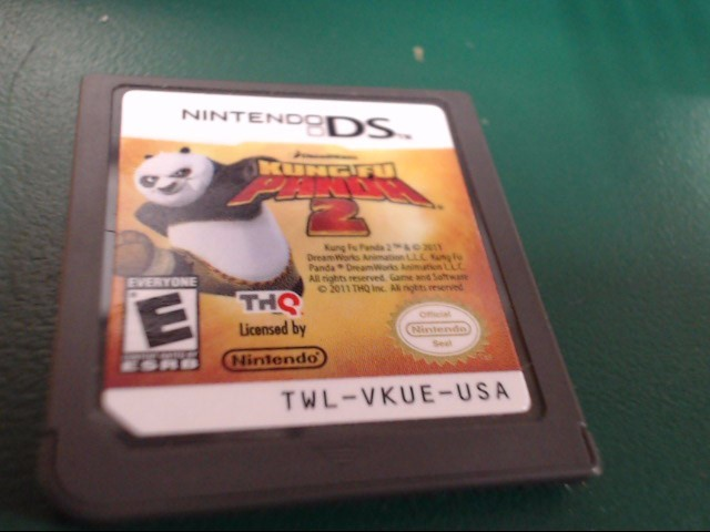 NINTENDO DS GAME KUNG FU PANDA 2