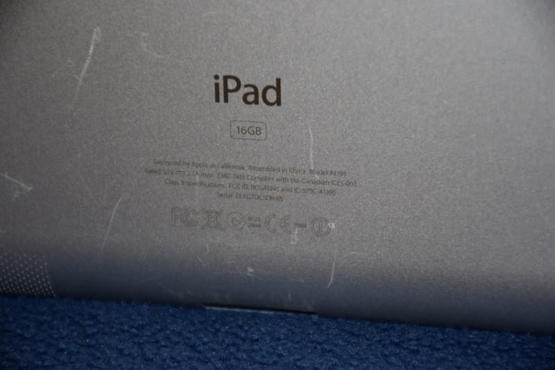 Apple iPad 2 Wi-Fi 16GB - Black - Model# A1395
