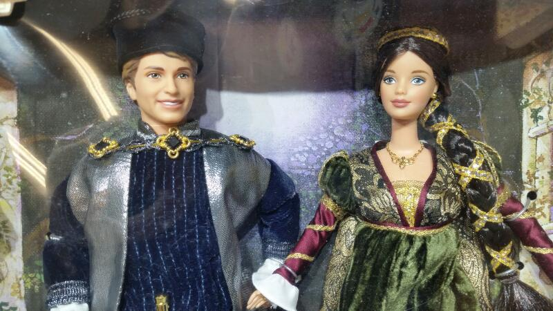 Mattel's Ken & Barbie Shakespeare Romeo & Juliet 1997 Limited Edition Dolls