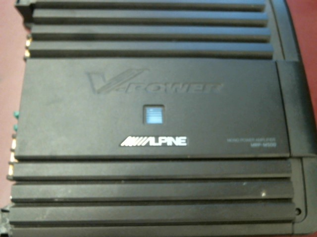 ALPINE ELECTRONICS Car Amplifier MRP-M500