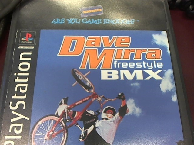 PS1 DAVE MIRRA BMX FREESTYLE