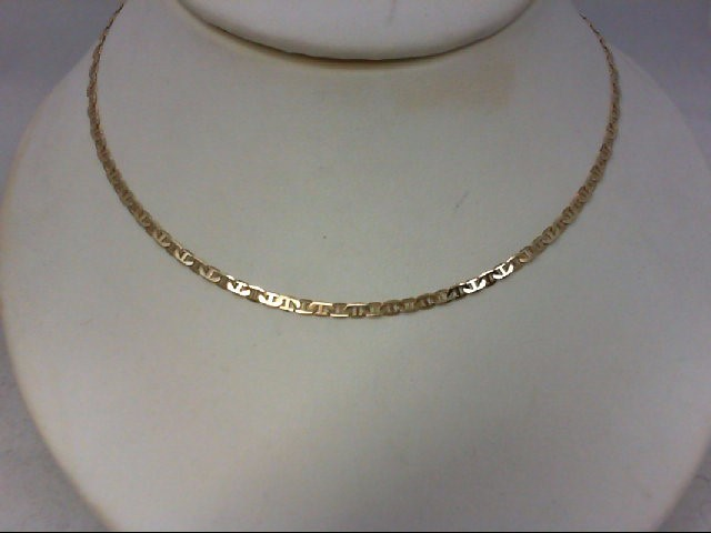 "20"" Gold Fashion Chain 14K Yellow Gold 5.3g"