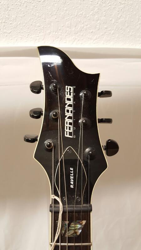 FERNANDES GUITARS Electric Guitar RAVELLE