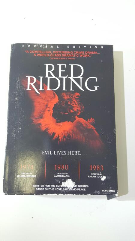 The Red Riding Trilogy (1974, 1980, 1983) DVD 3-Disc Set