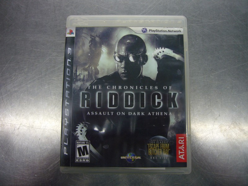 SONY PlayStation 3 Game THE CHRONICLES OF RIDDICK ASSAULT ON DARK ATHENA