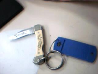 SCHRADE Scrimshaw Pocket Knife 511SC